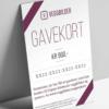 Gavekort på PDF, fotokunst veggbilde / plakat av Veggbilder