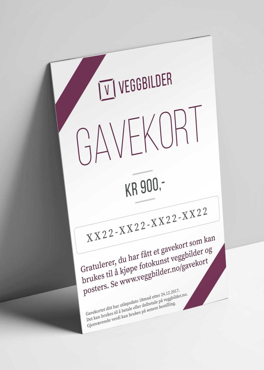 Gavekort på e-post av Peder Eikeland