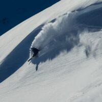 En bølge i fjellet, fotokunst veggbilde / plakat av Bård Basberg