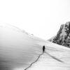Kontraster i snøen, fotokunst veggbilde / plakat av Bård Basberg