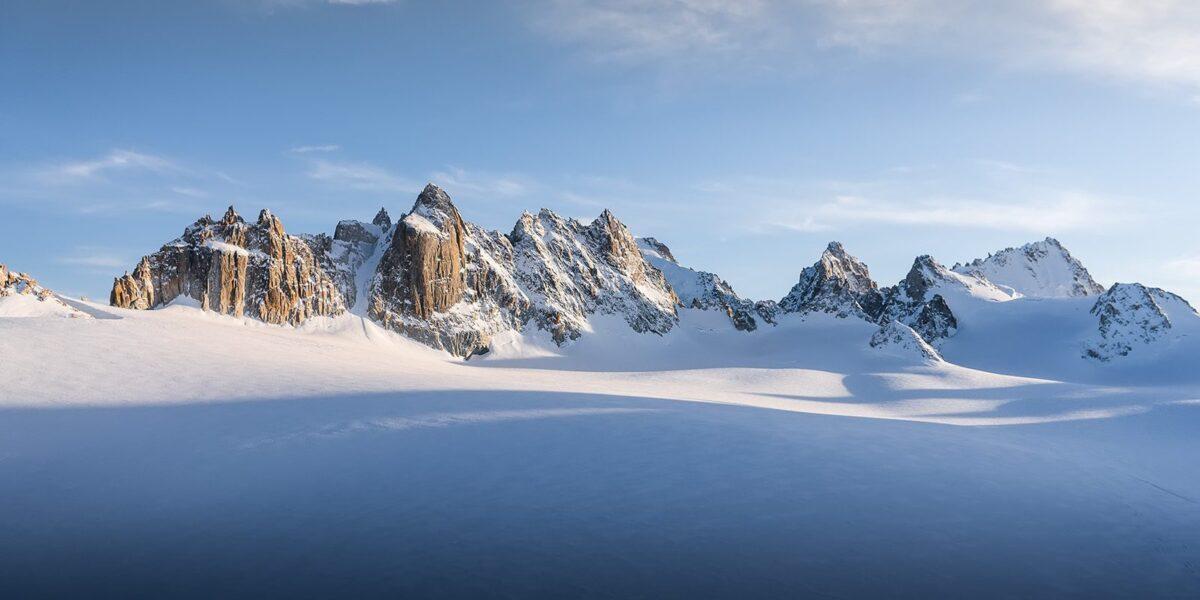 Soloppgang i alpene av Bård Basberg