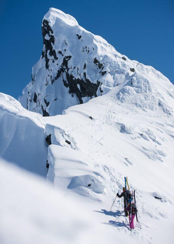 Mot toppen av fjellet, fotokunst veggbilde / plakat av Bård Basberg
