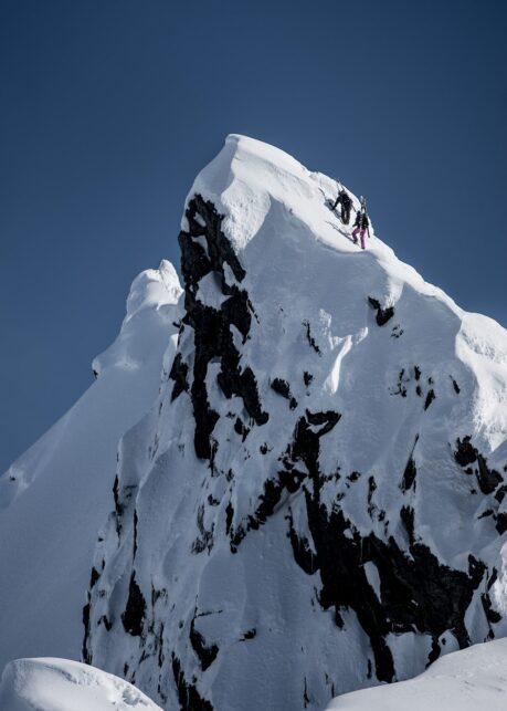 Klatring mot toppen av Bård Basberg
