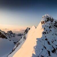 Soloppgang panorama i Jotunheimen, fotokunst veggbilde / plakat av Bård Basberg