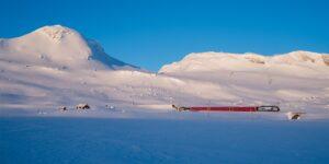 Gruvegang med togspor, fotokunst veggbilde / plakat av Thor Håkon Ulstad