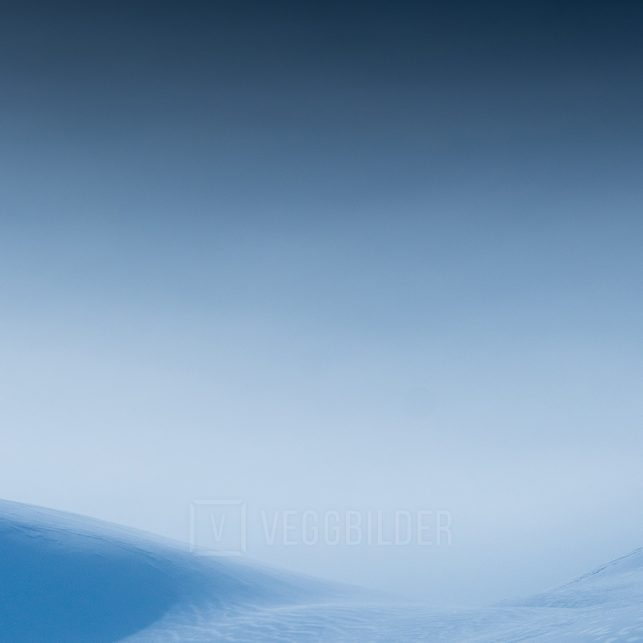 På topptur, fotokunst veggbilde / plakat av Bård Basberg