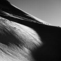 Tre stykker påvei oppover til fjells, fotokunst veggbilde / plakat av Bård Basberg