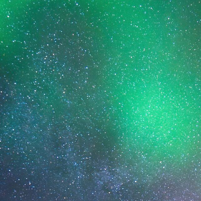 Nordlys på Senja, fotokunst veggbilde / plakat av Bård Basberg