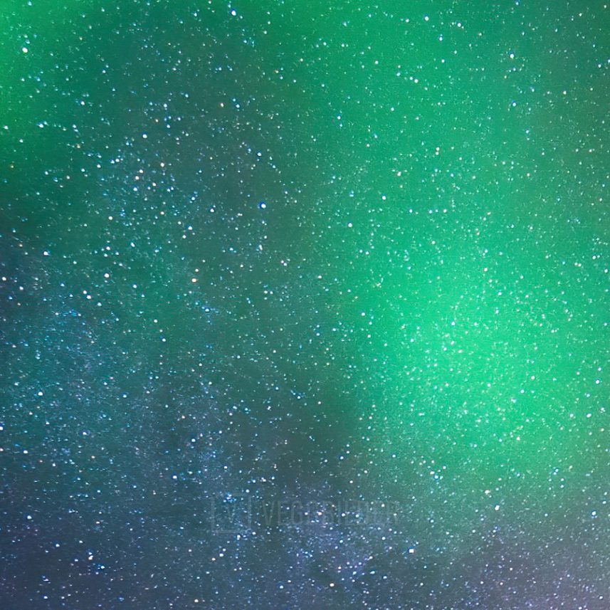 Nordlys på Senja II av Bård Basberg