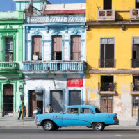 Typisk Havana, fotokunst veggbilde / plakat av Erling Maartmann-Moe