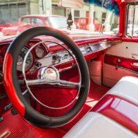 Havana-taxi, fotokunst veggbilde / plakat av Erling Maartmann-Moe