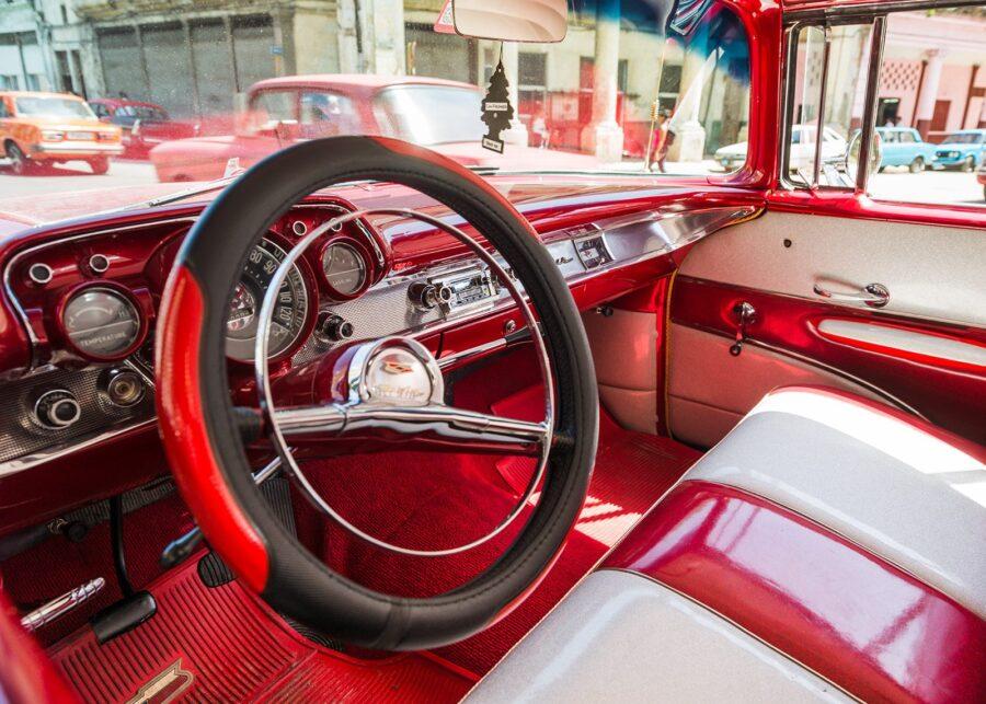 Havana-taxi av Erling Maartmann-Moe