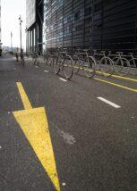 Barcode blåtimen, fotokunst veggbilde / plakat av Kåre Johansen