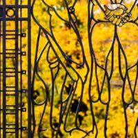 Port i Vigelandsparken, fotokunst veggbilde / plakat av Erling Maartmann-Moe