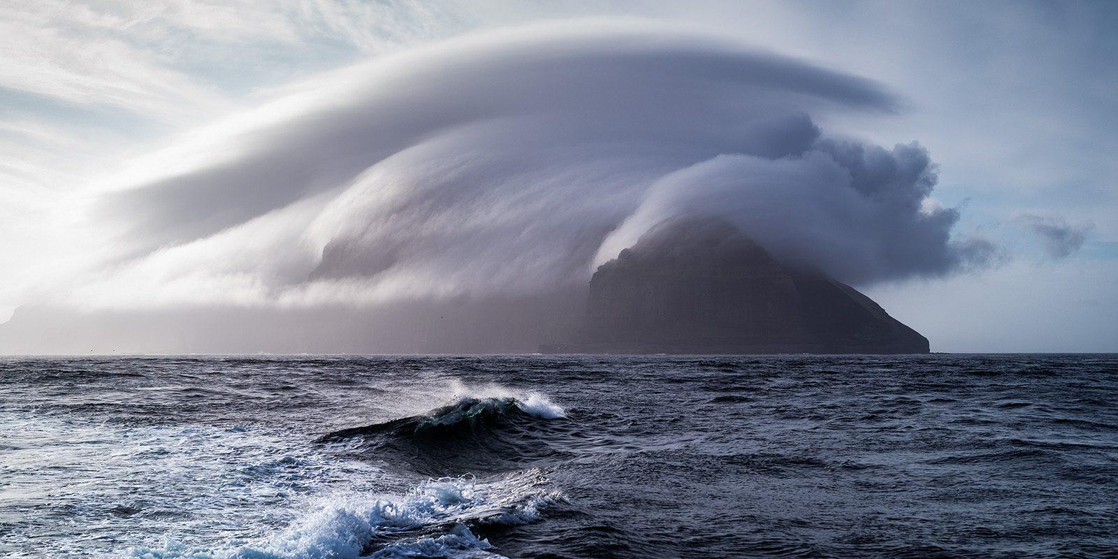 Mykines, Færøyene III av Erling Maartmann-Moe