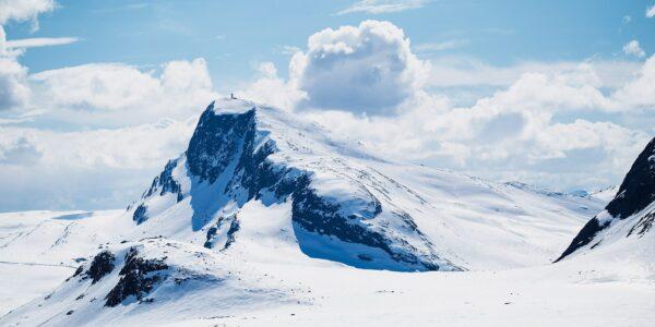 Bitihorn sett fra Valdresflya, fotokunst veggbilde / plakat av Erling Maartmann-Moe