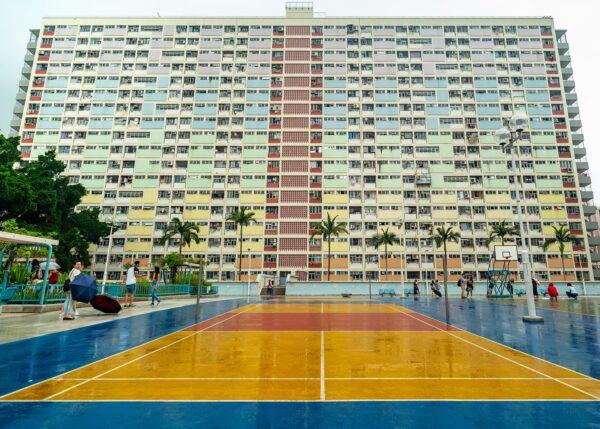 Hong Kong - Choi Hung Estates I, fotokunst veggbilde / plakat av Erling Maartmann-Moe