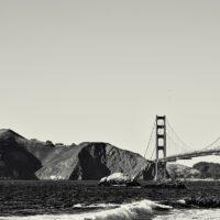 Golden Gate Bridge San Francisco, fotokunst veggbilde / plakat av Erling Maartmann-Moe