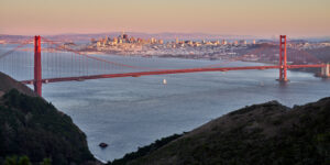 Høyhus San Francisco, fotokunst veggbilde / plakat av Erling Maartmann-Moe