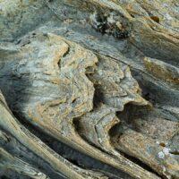 Steinformasjoner ved kysten i Salten, Nordland, fotokunst veggbilde / plakat av Erling Maartmann-Moe