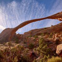 Moab, The Devil's Garden, Arches National Park, Utah, USA. November 2019, fotokunst veggbilde / plakat av Erling Maartmann-Moe