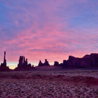 Monument Valley National Park, Utah, USA. November 2019, fotokunst veggbilde / plakat av Erling Maartmann-Moe