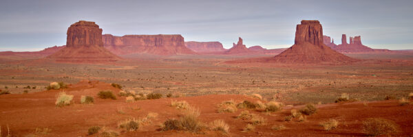 Monument Valley National Park, Utah, USA. November 2019, fotokunst veggbilde / plakat av Erling Maartmann-Moe