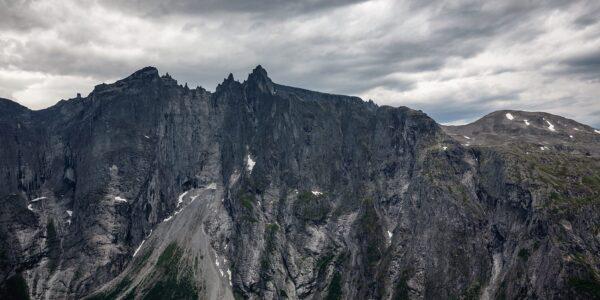 Trollveggen Panorama, fotokunst veggbilde / plakat av Eirik Sørstrømmen