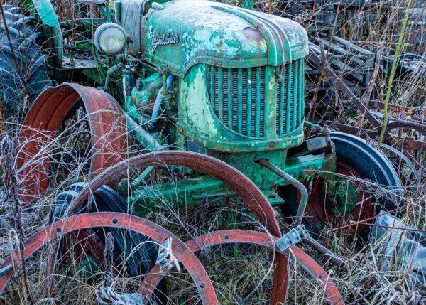 Traktoren, fotokunst veggbilde / plakat av Gjestefotografen Magnus Reneflot