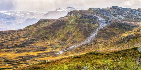Høst i fjellet, fotokunst veggbilde / plakat av Gunnar Kopperud