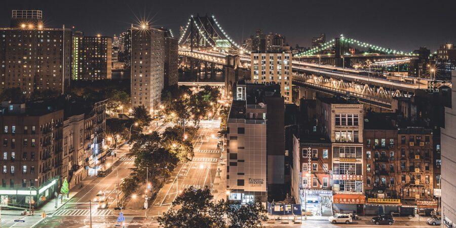 New York - East Broadway av Gunnar Kopperud