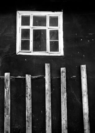 provisorisk vegg, fotokunst veggbilde / plakat av Henning Mella
