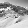 Thorong la pass, Annapurna sort-hvitt av Henning Mella