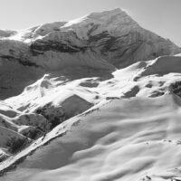 Thorong La Pass, Nepal, fotokunst veggbilde / plakat av Henning Mella