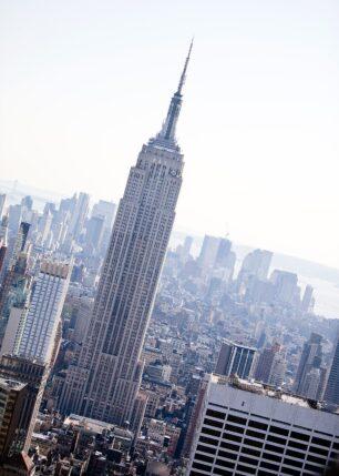 Manhattan skyline, fotokunst veggbilde / plakat av Henning Mella