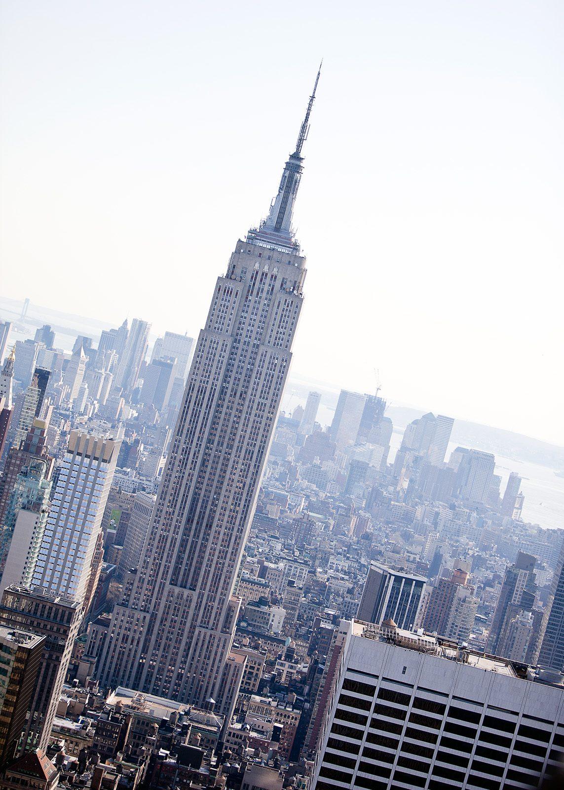Manhattan skyline av Henning Mella