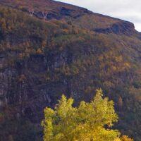 Mørkridsdalen, fotokunst veggbilde / plakat av Henning Mella