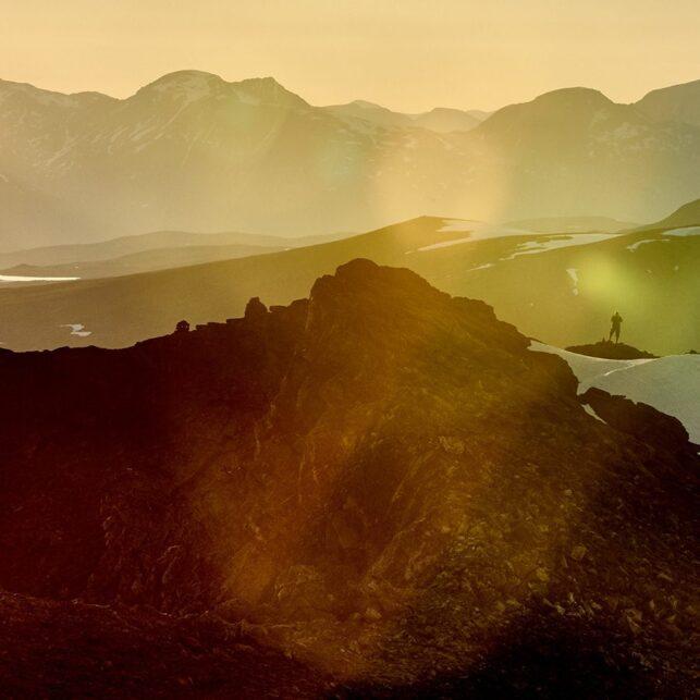 Hamperokken i Troms, fotokunst veggbilde / plakat av Henning Mella