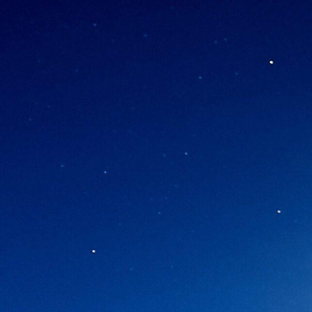 måneskinn over Jotunheimen, fotokunst veggbilde / plakat av Henning Mella