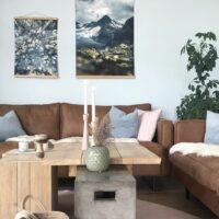 Mjølkedalspiggen i Jotunheimen, fotokunst veggbilde / plakat av Tor Arne Hotvedt