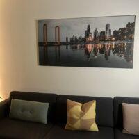 Speilbilde av Chicago, fotokunst veggbilde / plakat av Tor Arne Hotvedt