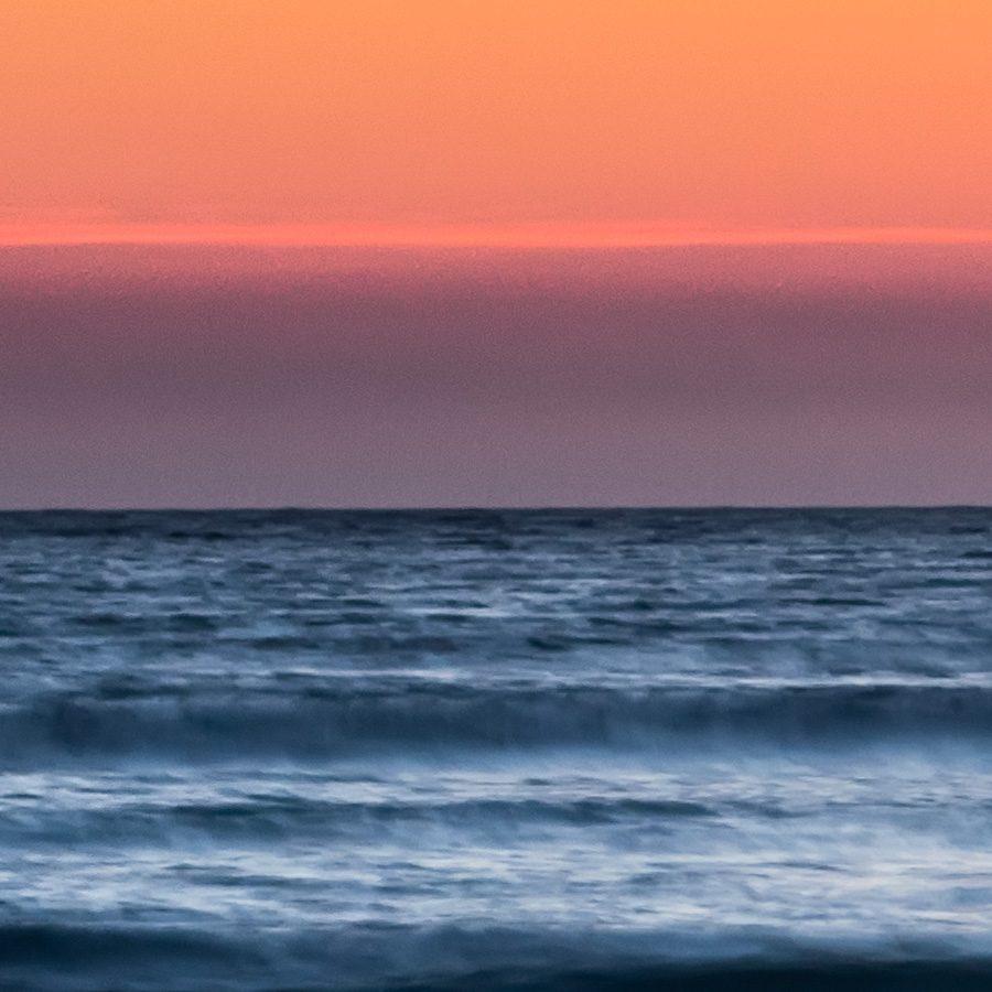 Solnedgang Orresanden av Kåre Johansen