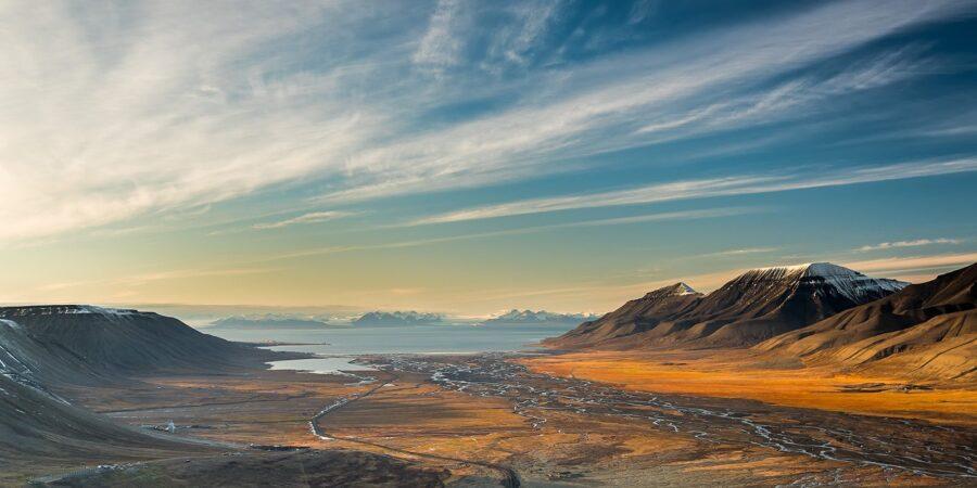 Høst i Adventsdalen av Kåre Johansen