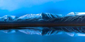 Kveld i Damstredet, fotokunst veggbilde / plakat av Tor Arne Hotvedt