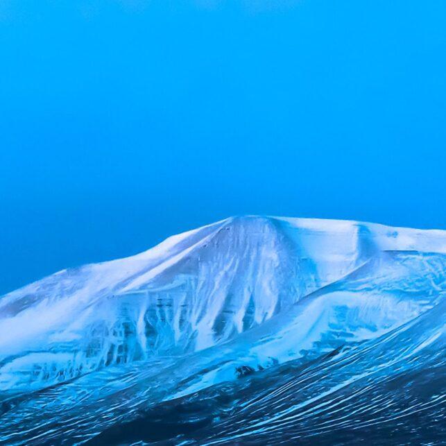 Natt i Adventsdalen, fotokunst veggbilde / plakat av Kåre Johansen