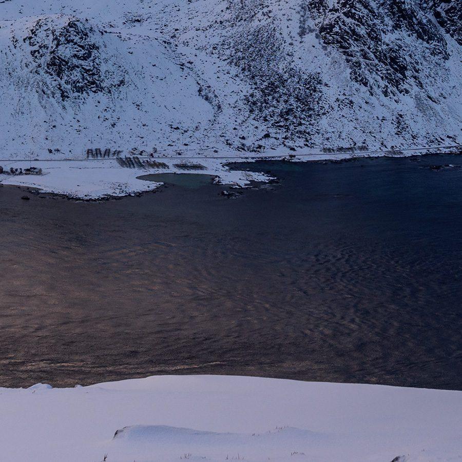 Utsikt fra Offerøykampen av Kåre Johansen