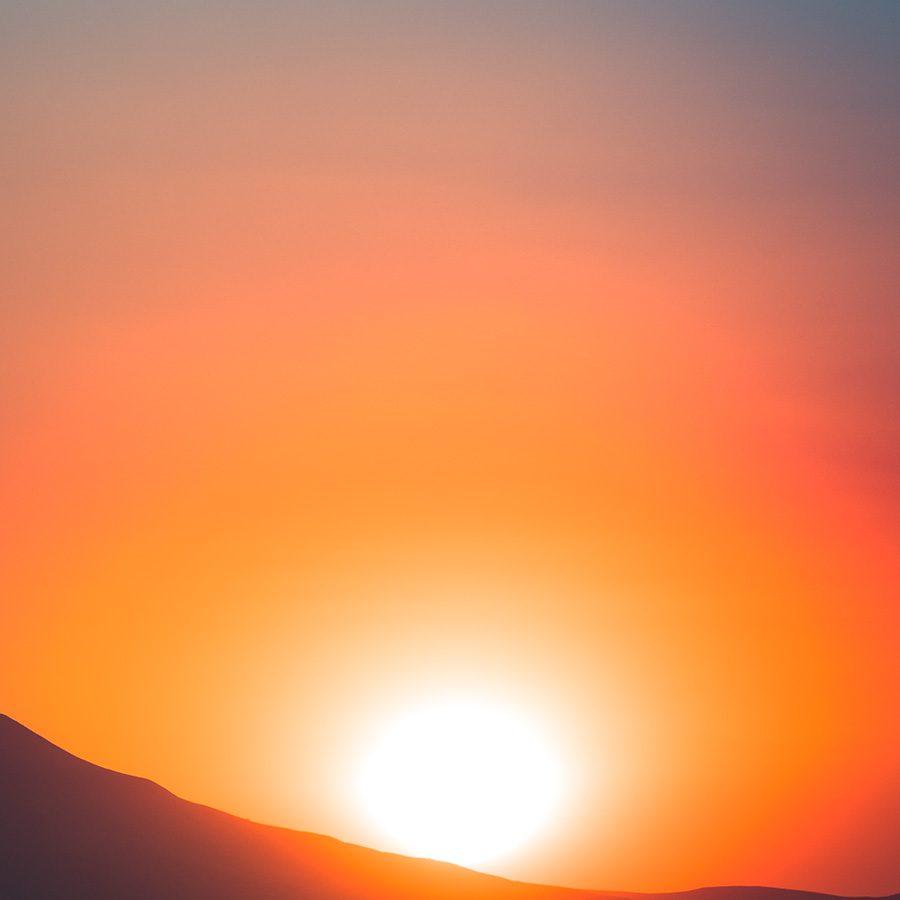 Solnedgang på Madagaskar av Kåre Johansen