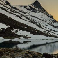 Kveldsol over Koldevann, fotokunst veggbilde / plakat av Kåre Johansen