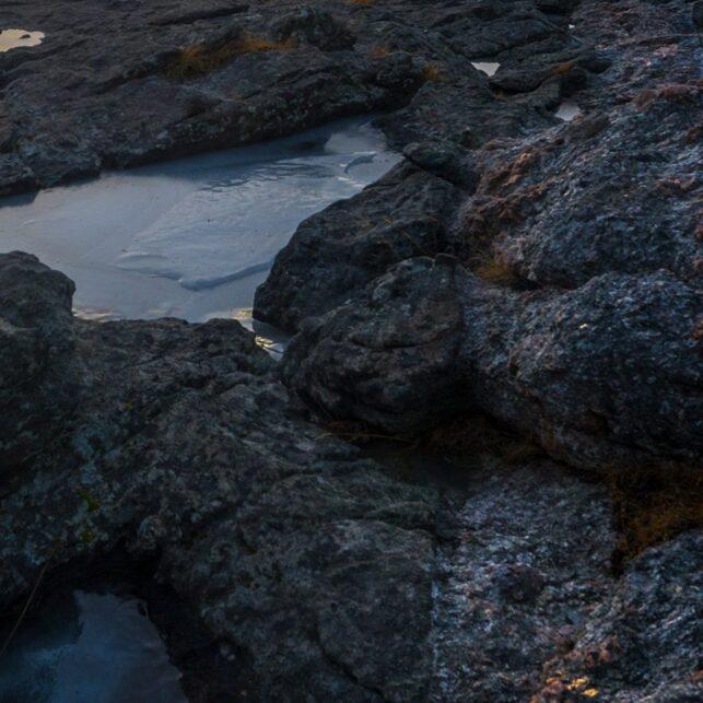 Solnedgang i Andstabbvika, fotokunst veggbilde / plakat av Kåre Johansen