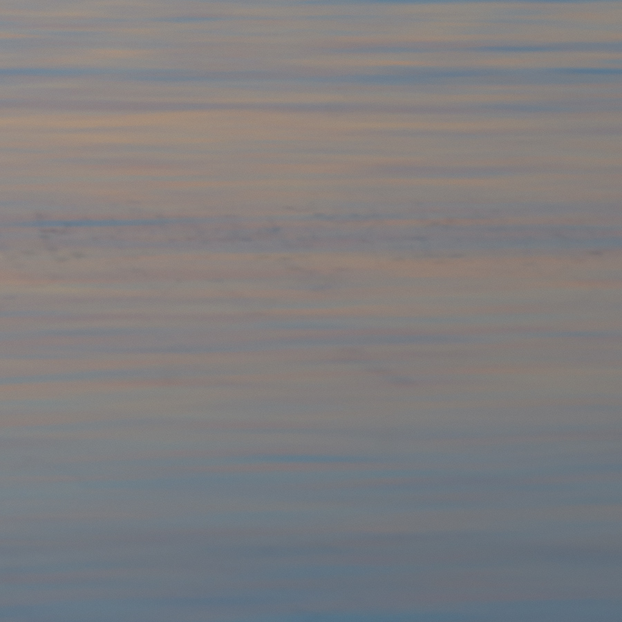 Solnedgang på Hovsund av Kåre Johansen